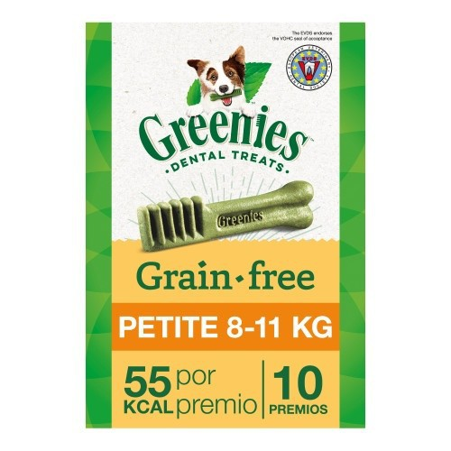 Hueso Greenies Grain Free Petite razas pequeñas