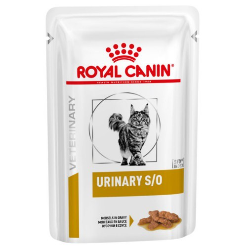 Royal Canin Urinay S/O en salsa para gatos