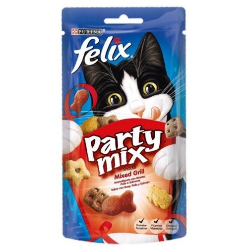 Snacks Felix Party Mix Mixed Grill para gatos