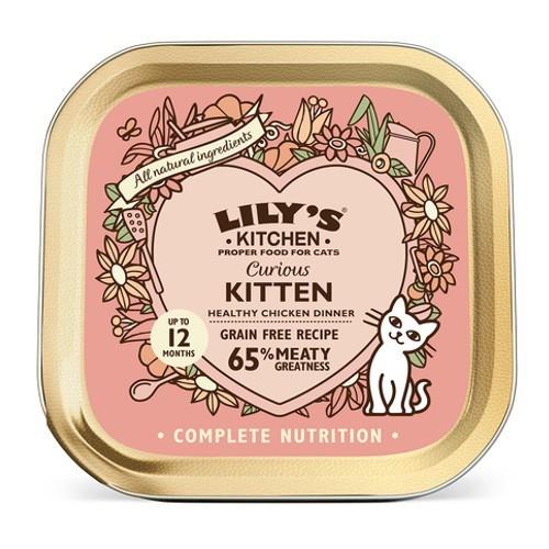 Lily's Kitchen Curious Kitten húmedo gatitos