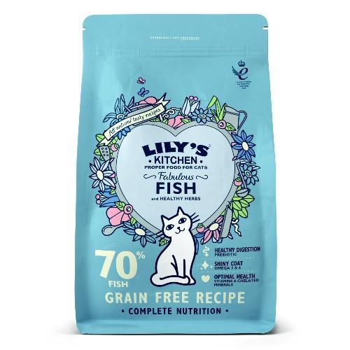 Pienso Lily's Kitchen Fabulous Fish gatos