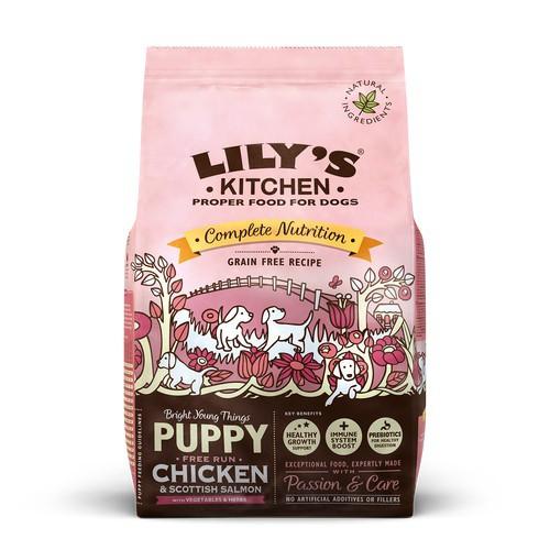 Pienso Lily's Kitchen Puppy Chicken & Salmon perros