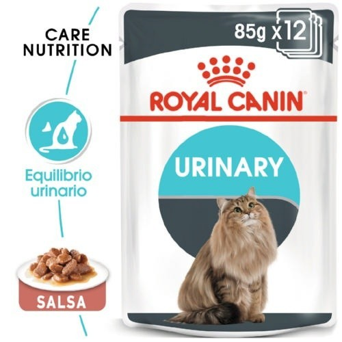 Royal Canin Urinary Care en salsa para gatos