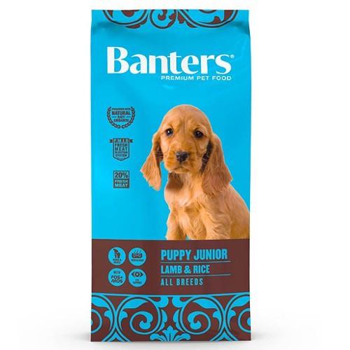 Pienso Banters Puppy Cordero para cachorros