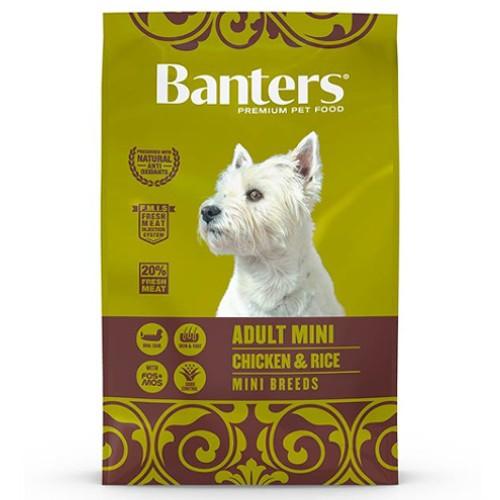 Pienso Banters Adult Mini Pollo para perros