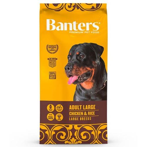 Pienso Banters Adult Large Pollo para perros