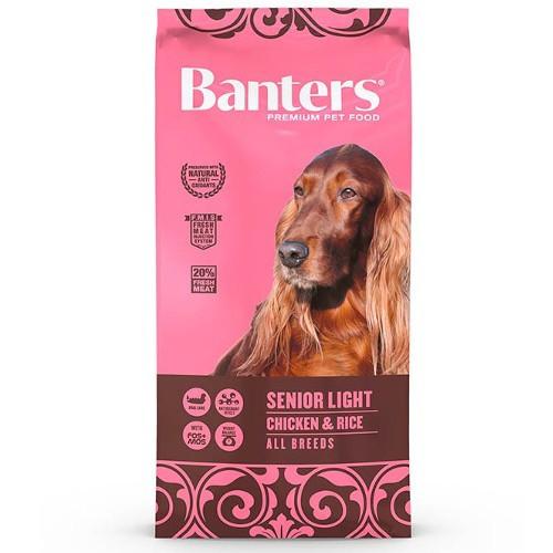 Pienso Banters Senior Light Pollo para perros