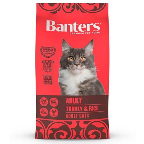 Pienso Banters Adult Pavo para gatos