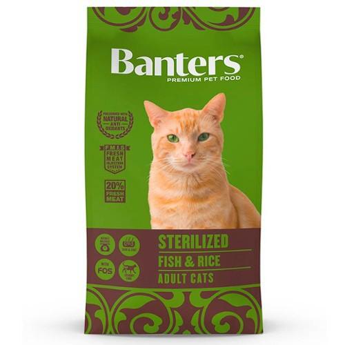 Pienso Banters Sterilized Pescado para gatos