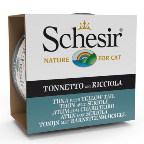 Comida húmeda Schesir atún con seriola