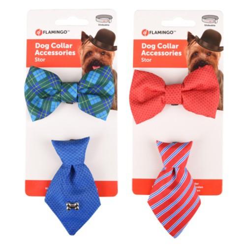 Pajarita y corbata para perros