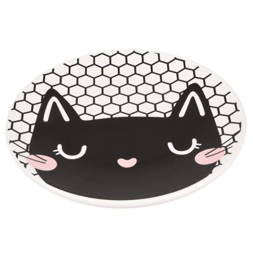 Plato de cerámica para gatos Guus
