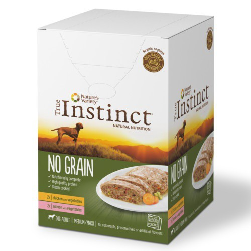 Multipack True Instinct No Grain Medium/Maxi húmedo