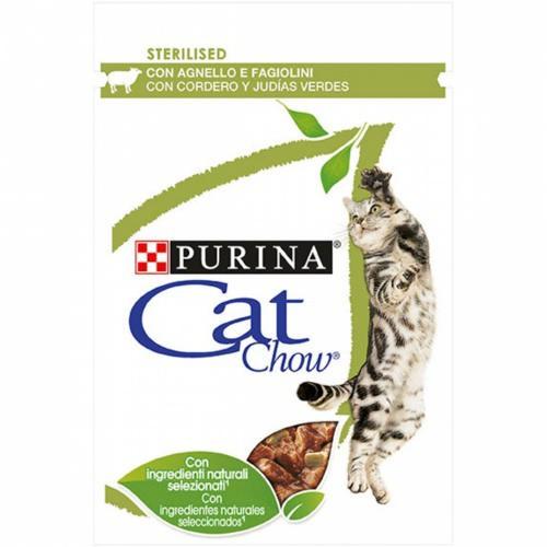 Purina Cat Chow Esterilizado con cordero