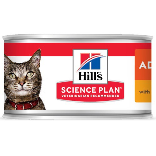 Hill's Adult húmedo con pollo para gatos