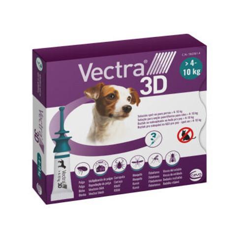 Vectra 3D pipetas para perros 4-10 kg