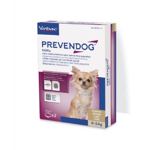Prevendog collar antiparasitario para perros 35 cm