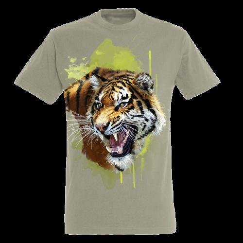Camiseta Tigre color Beige