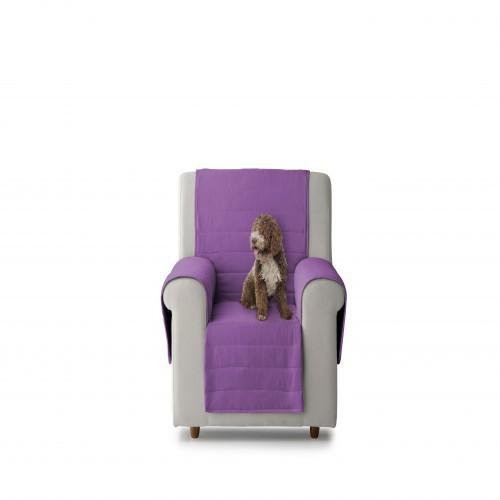 Cubre sillón acolchado para perros reversible Turín