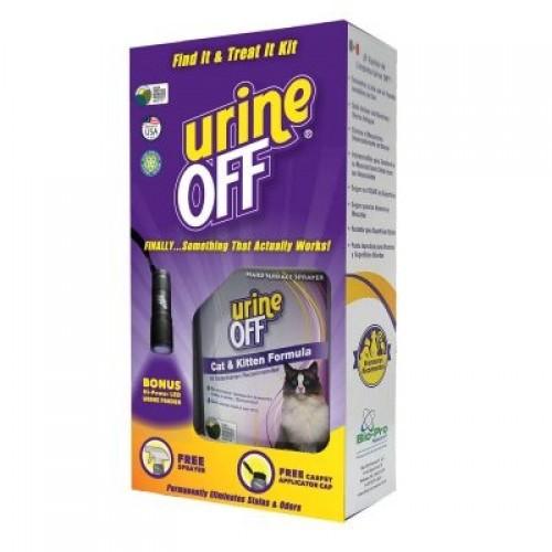 Kit limpiador de orina de gatos Urine Off  quitaolores