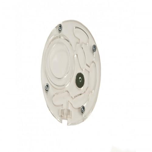 Hormiguero Anthouse de acrílico con forma de círculo
