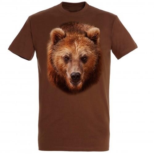 Camiseta Oso Pardo color Marrón