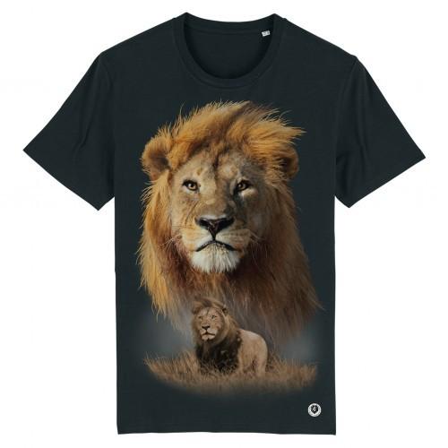 Camiseta Escena León color Negro