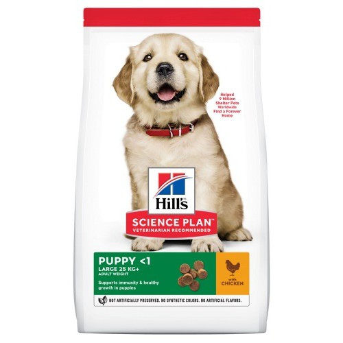 Hill's Canine Puppy Healthy Development Razas grandes Pollo