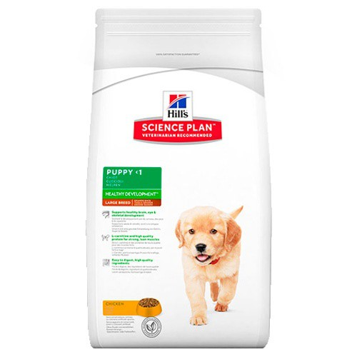 Hill's Canine Puppy Healthy Development Razas grandes Pollo