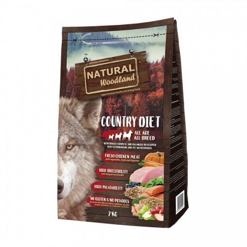 Pienso Country Diet  para perros sabor Pollo