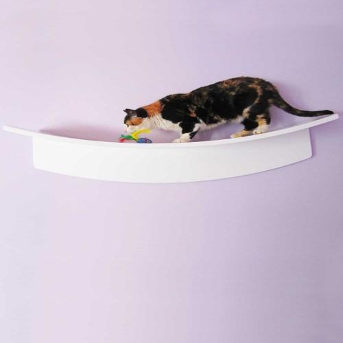 Balda para gatos centro de juegos color Uva intenso