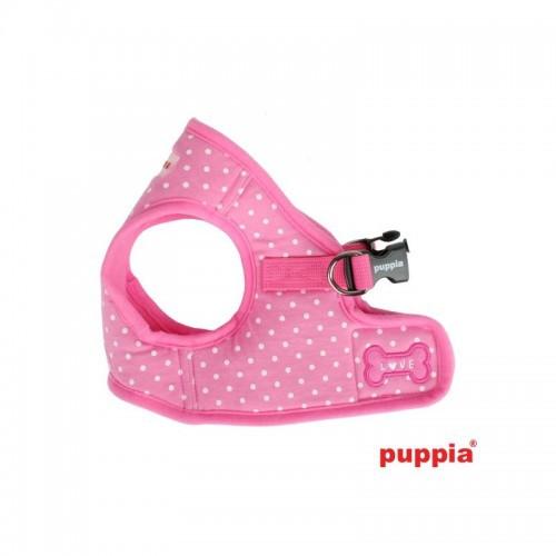 Arnés Dotty Vest para perros color Rosa