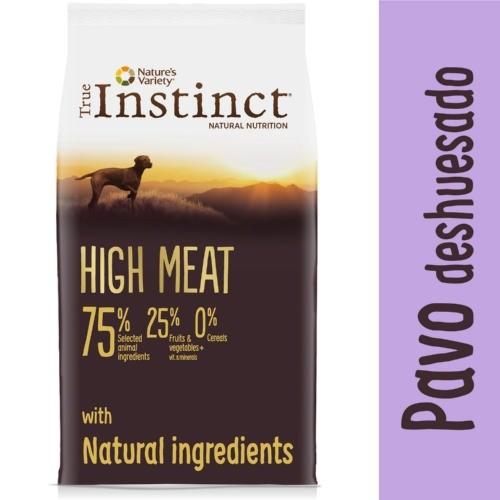 Pienso True Instinct High Meat Adult Medium - Maxi Pavo