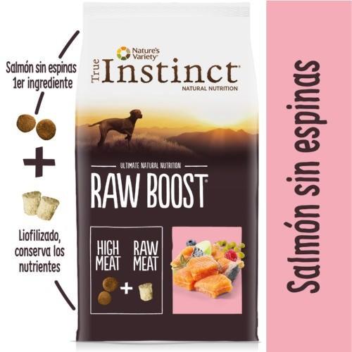 Pienso True Instinct Raw Boost Adut Salmón