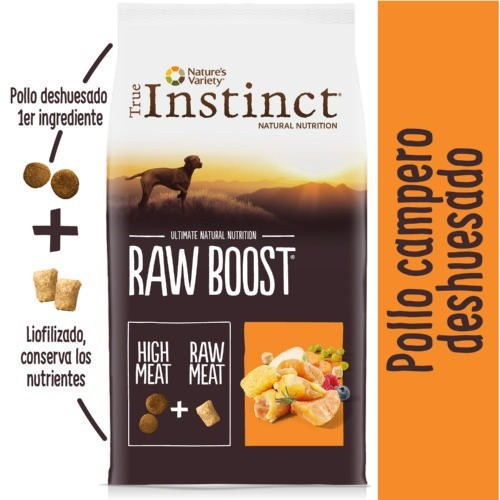 Pienso True Instinct Raw Boost Adult Pollo