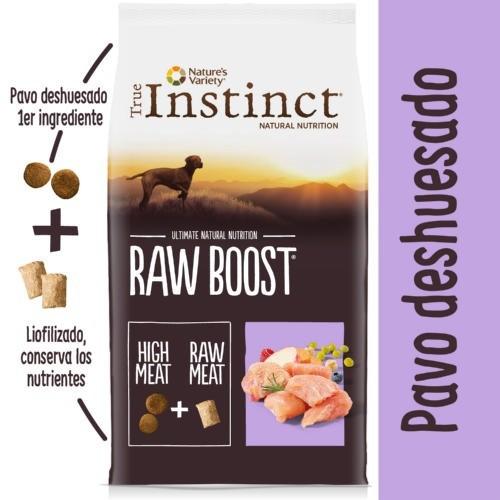 Pienso True Instinct Raw Boost Adult Pavo