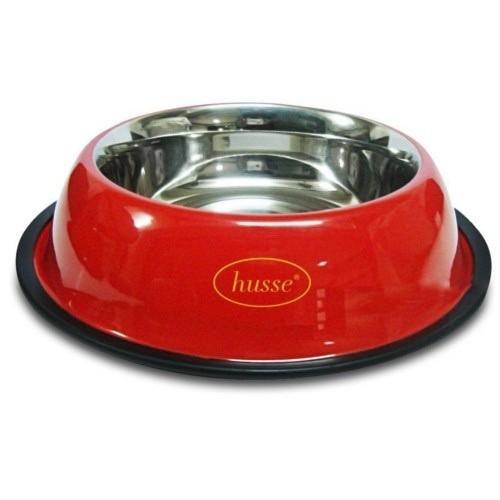Comedero de metal Matskål para perros color Rojo