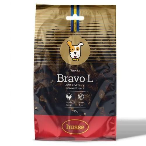 Snacks Husse Bravo L para perros sabor Cordero