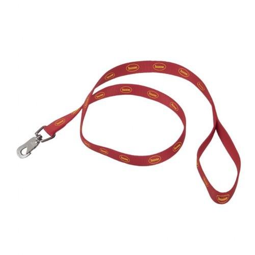 Correa Hundkoppel para perros color Rojo