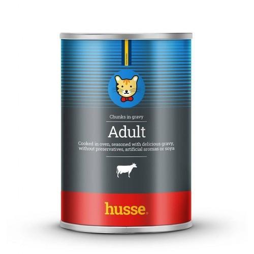 Albóndigas para gatos Husse Adult Beef sabor vacuno