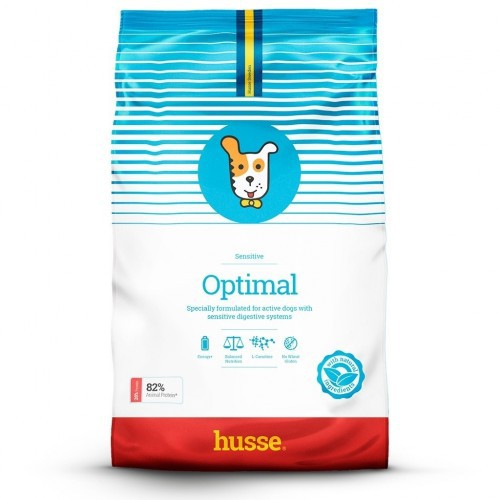 Pienso Husse Optimal Sensitive para perros sabor Pollo