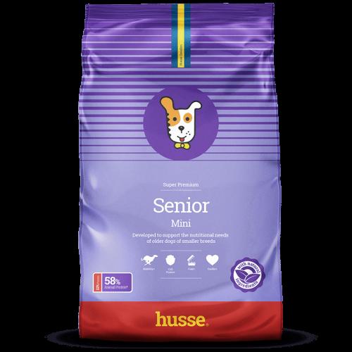Pienso Husse Senior Mini para perros sabor Pollo