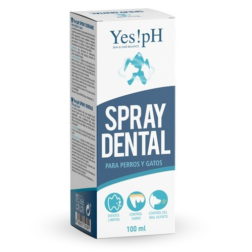 Yes!pH Spray dental para perros y gatos