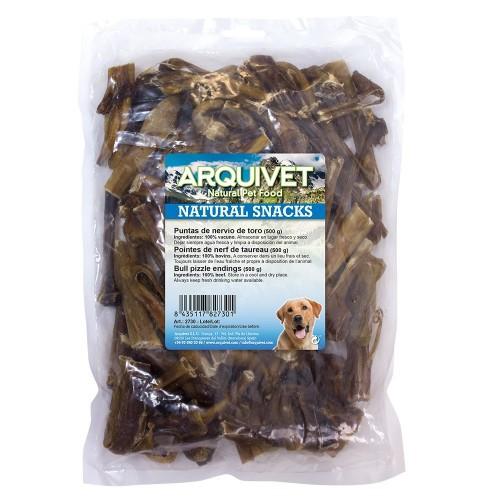 Puntas de nervio de toro para perros sabor Neutro
