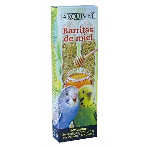 Barritas para periquitos sabor Miel