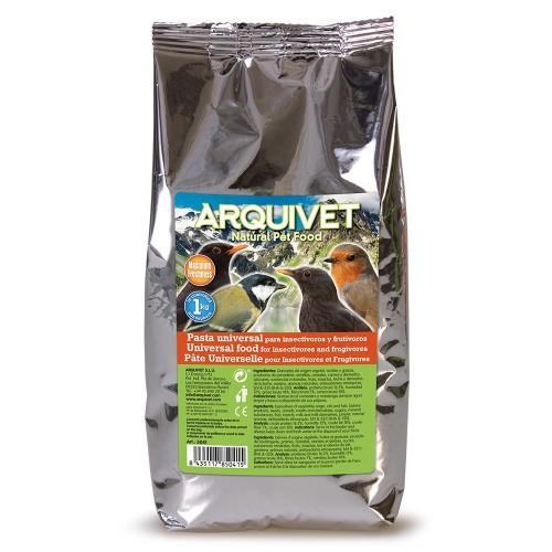 Pasta Universal para pájaros insectívoros y frutívoros sabor Neutro