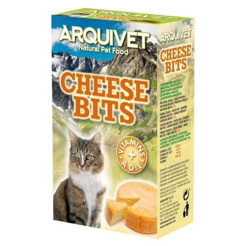 Snacks Bits Arquivet para gatos sabor Queso
