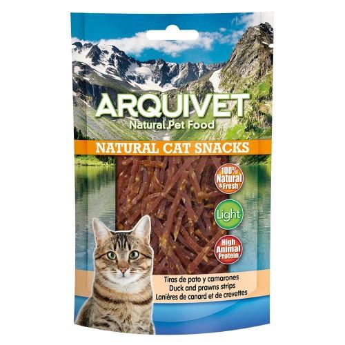 Natural Cat Snack Tiras para gatos sabor Pato