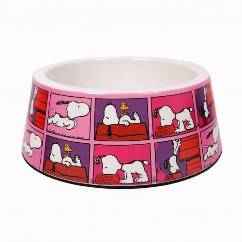 Comedero para perros Snoopy Filmcolor color rosa