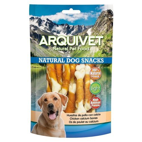 Huesitos para perros Natural Dog Snacks Arquivet sabor pollo